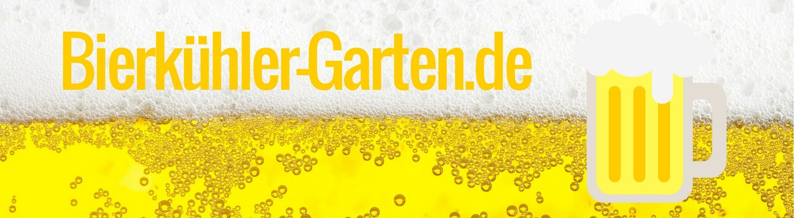 Bierkühler Garten