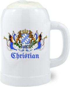 Personalisierter Bierkrug